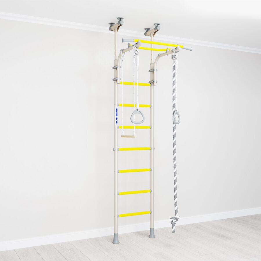 Zviedru siena R5 White (balts/dzeltens)