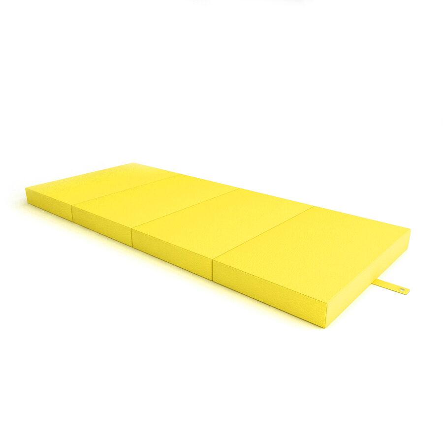 Sporta paklājs Fitness 500*1200*40 (dzeltenā krāsa)
