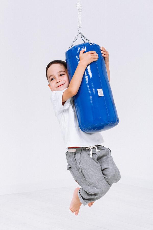 Boksa maiss 12kg (7-10 gadi) priekš zviedru sienas
